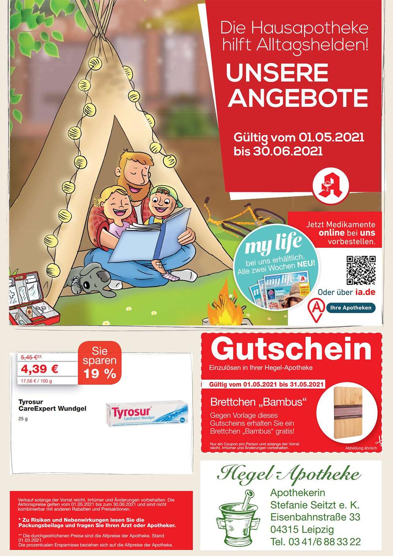 Aktuelle Angebote Hegel Apotheke In 04315 Leipzig