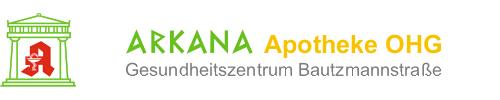 Logo der ARKANA Apotheke OHG