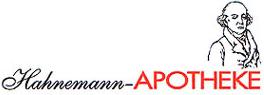 Logo der Hahnemann-Apotheke im PEP Torgau