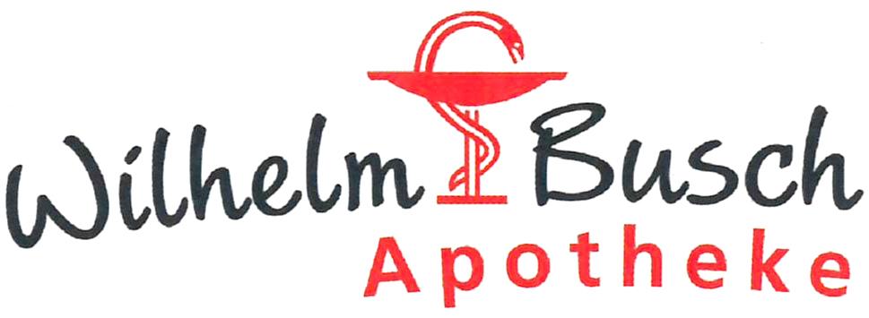 Logo der Wilhelm-Busch-Apotheke im Pleissental