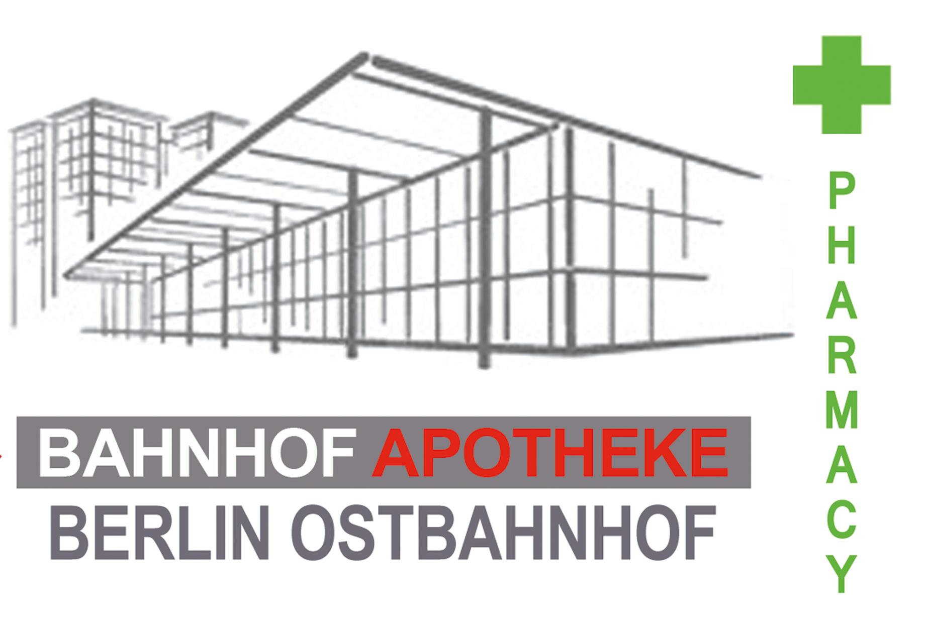 Logo der Bahnhof Apotheke Friedrichshain