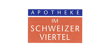 Logo der Apotheke im Schweizer Viertel