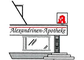 Logo der Alexandrinen-Apotheke