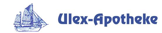 Logo der Ulex-Apotheke am Markt