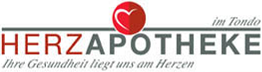 Logo der Herz-Apotheke im Tondo