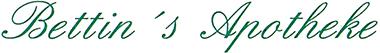 Logo der Bettin's Apotheke