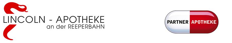 Logo der Lincoln-Apotheke an der Reeperbahn