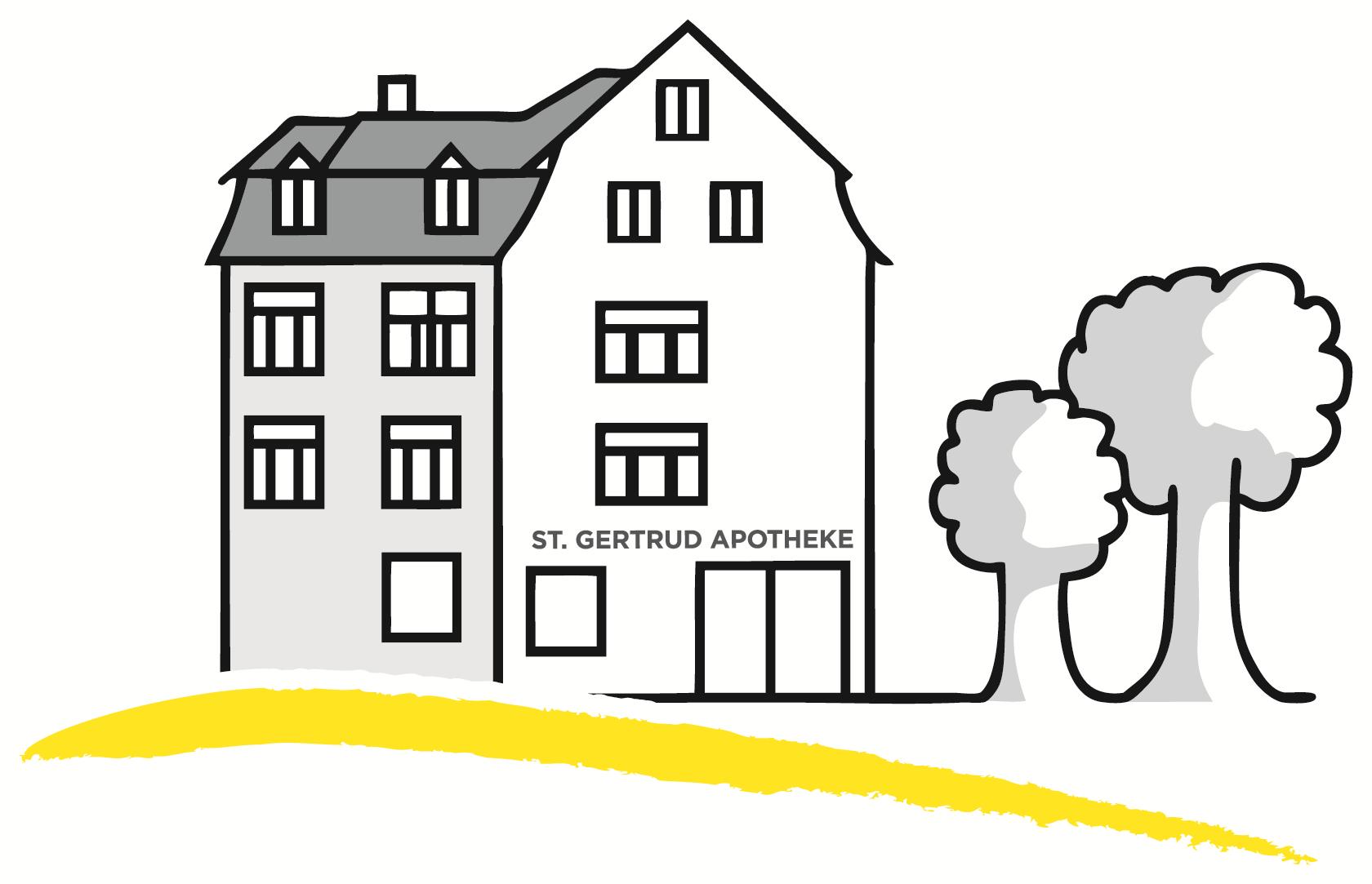 Logo der St. Gertrud Apotheke