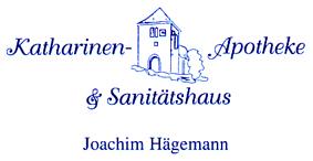 Logo der Katharinen-Apotheke & Sanitätshaus