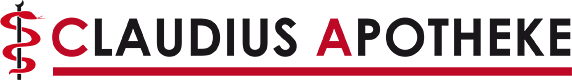 Logo der Claudius Apotheke