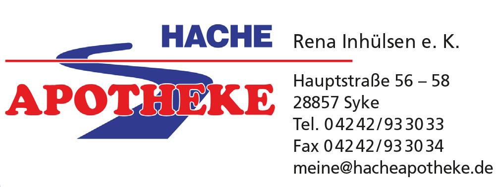 Logo der Hache Apotheke e.K.
