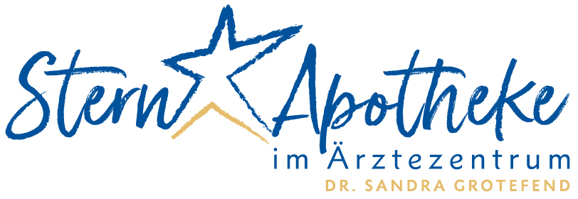 Logo der Stern-Apotheke im Ärztezentrum