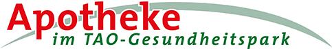 Logo der Apotheke im TAO-Gesundheitspark