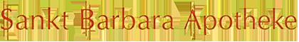 Logo der St.-Barbara-Apotheke