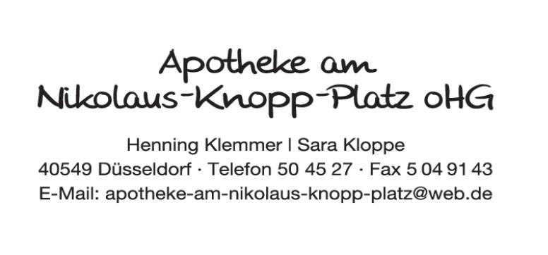 Logo der Apotheke am Nikolaus-Knopp-Platz oHG