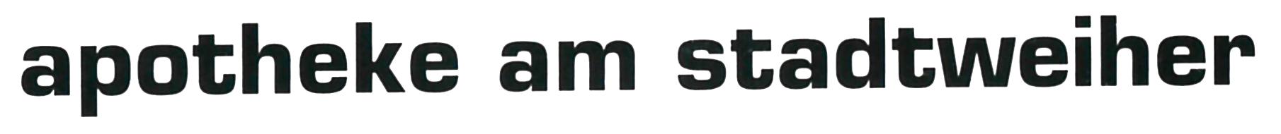 Logo der Apotheke am Stadtweiher