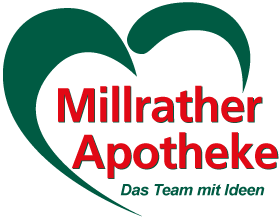 Logo der Millrather Apotheke