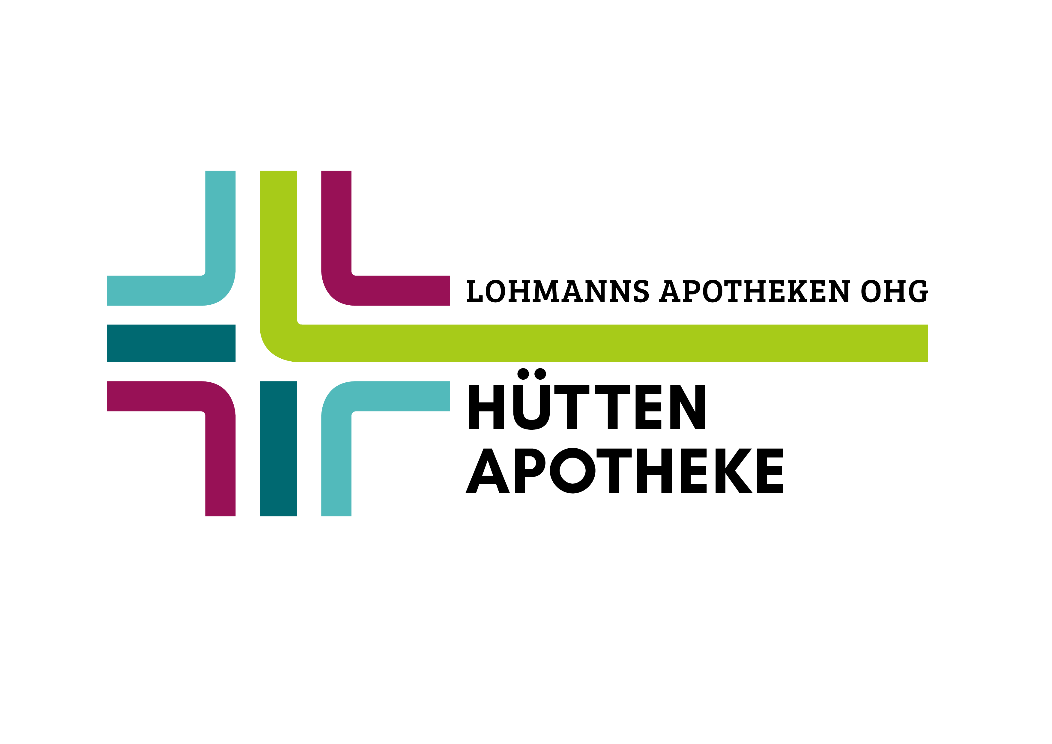 Logo der Hütten-Apotheke, Lohmanns Apotheken OHG