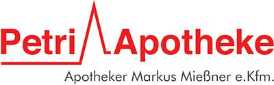 Logo der Petri-Apotheke