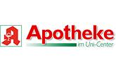 Logo der Apotheke im Uni-Center