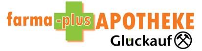 Logo der farma-plus Apotheke Glückauf