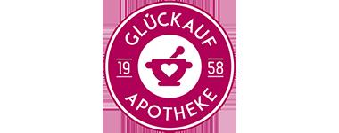 Logo der Glückauf-Apotheke Karl Wilmer