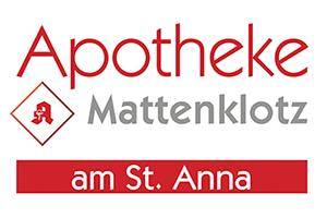 Logo der Apotheke Mattenklotz am St. Anna