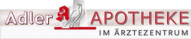 Logo der Adler-Apotheke im Ärztezentrum