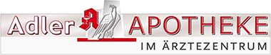 Logo Adler-Apotheke im Ärztezentrum
