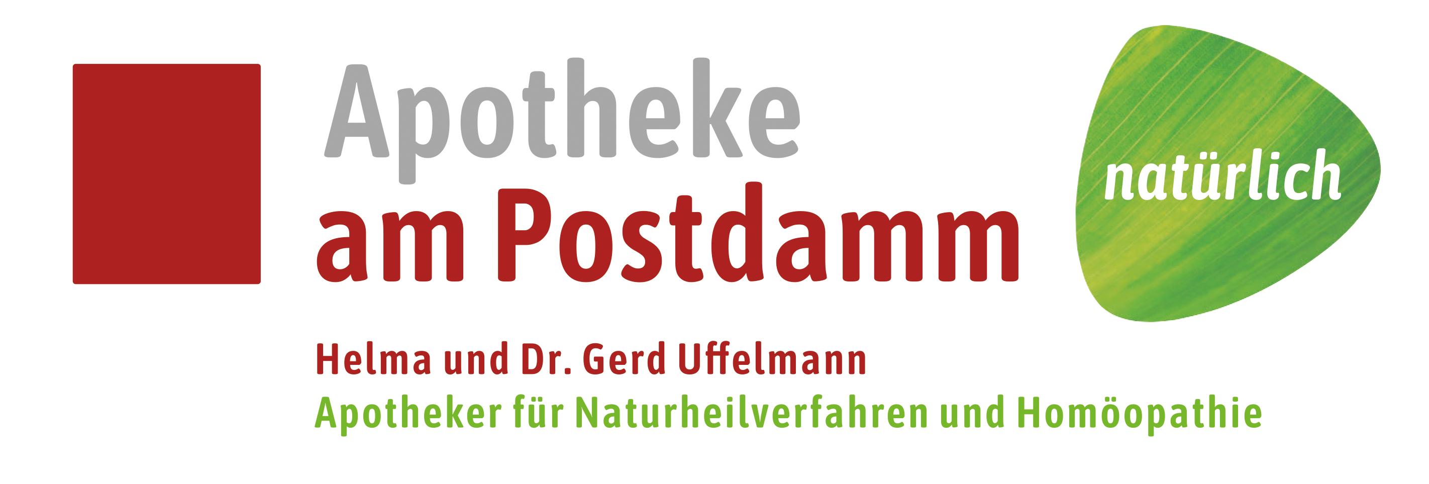 Logo der Apotheke am Postdamm