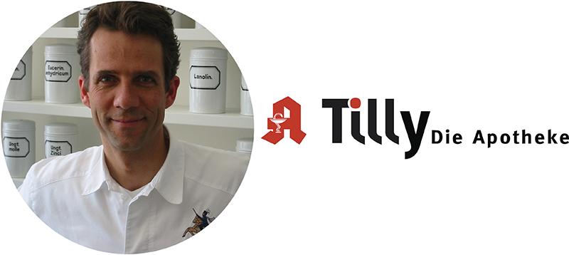 Logo der Tilly-Apotheke