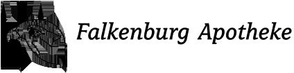 Logo der Falkenburg-Apotheke am Stadtwald
