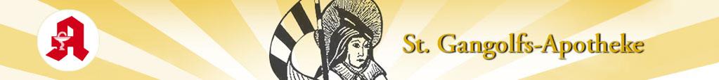Logo der St. Gangolfs-Apotheke