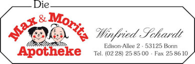 Logo der Die Max & Moritz-Apotheke