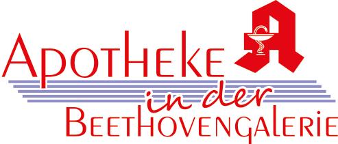 Logo der Apotheke in der Beethovengalerie
