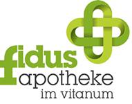 Logo der Fidus-Apotheke im Vitanum