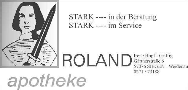 Logo der Roland-Apotheke