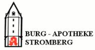 Logo der Burg-Apotheke Stromberg