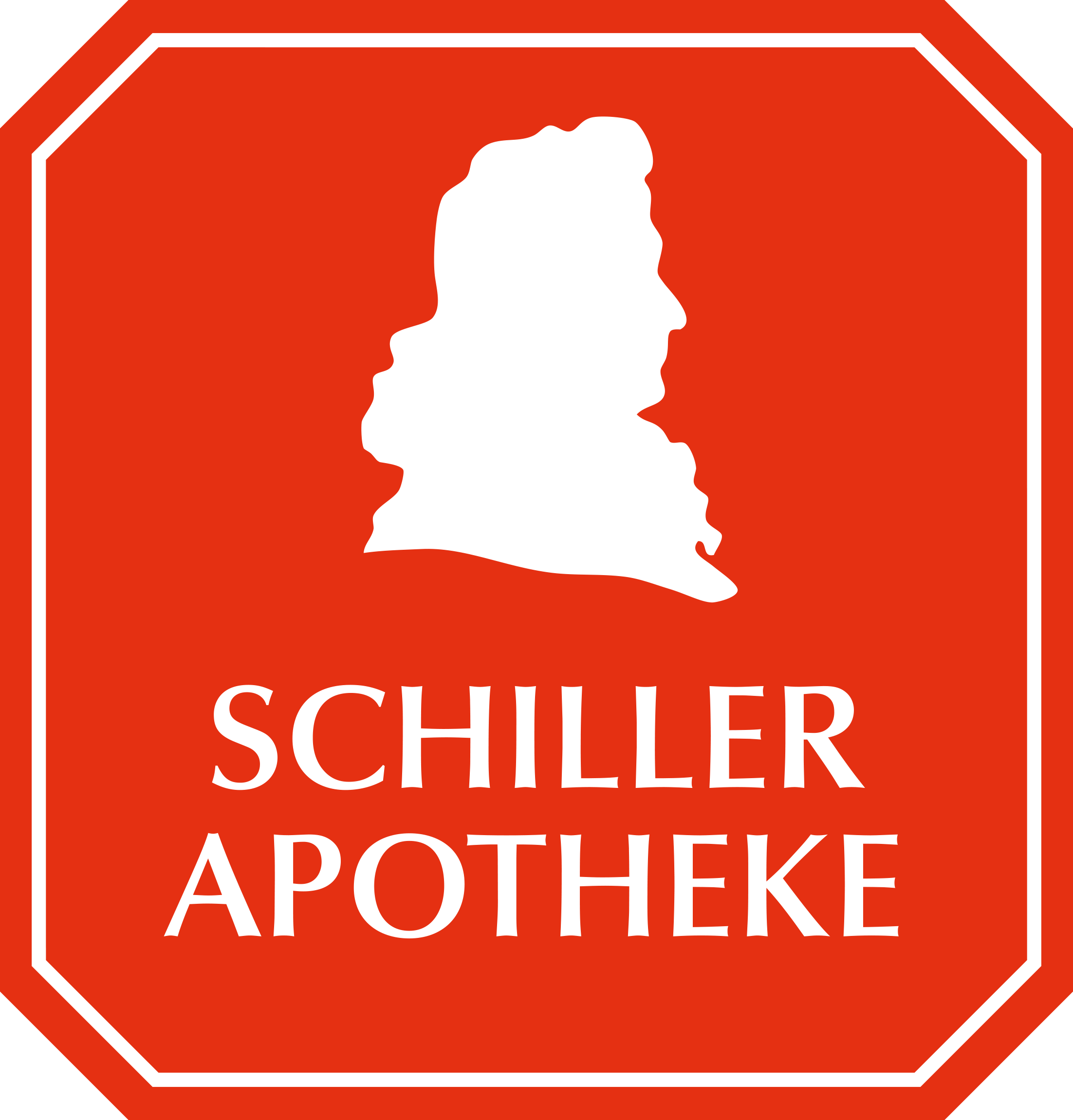 Logo der Schiller-Apotheke OHG