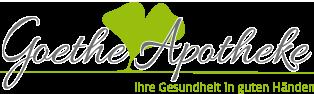 Logo der Goethe-Apotheke im Taunus Carre