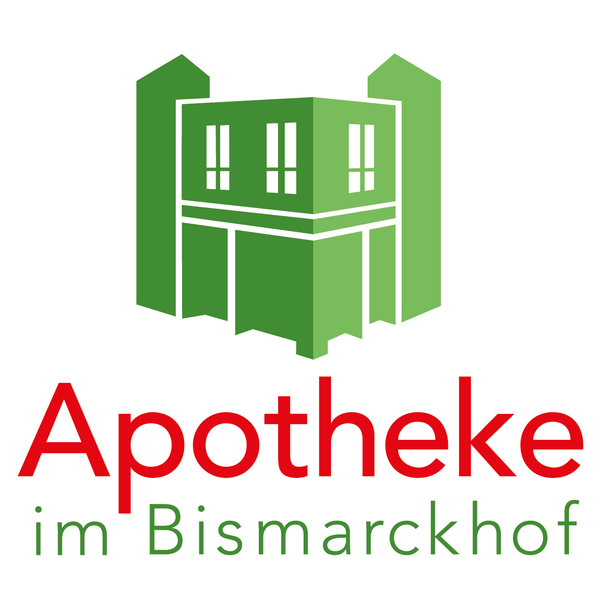 Logo der Apotheke im Bismarckhof