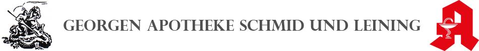 Logo der Georgen Apotheke Schmid und Leining