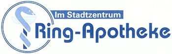 Logo der Ring-Apotheke im Stadtzentrum