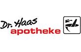 Logo der Dr. Haas Apotheke im Chinon Center