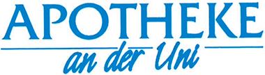 Logo der Apotheke an der Uni