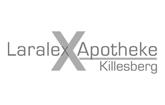 Logo der Laralex-Apotheke Killesberg