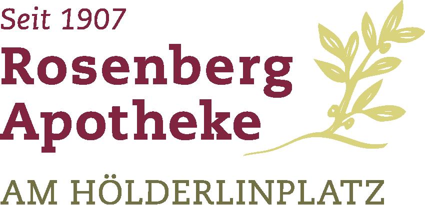 Logo der Rosenberg-Apotheke am Hölderlinplatz