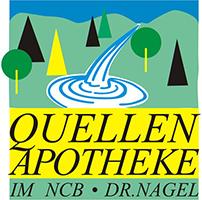 Logo der Quellen-Apotheke im NCB
