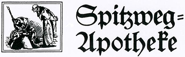 Logo der Spitzweg-Apotheke Degerloch