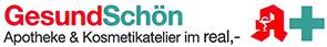 Logo der Apotheke im Real
